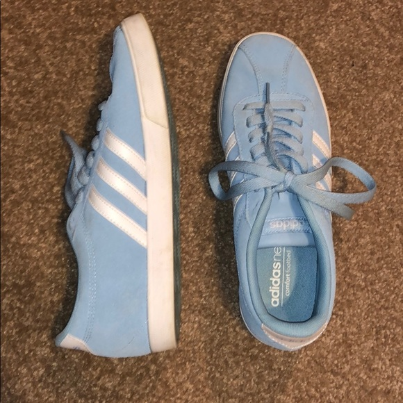 Adidas Neo Baby Blue Sneakers